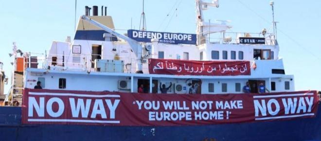 Defend Europe: Malta nega rifornimenti alla nave anti-Ong