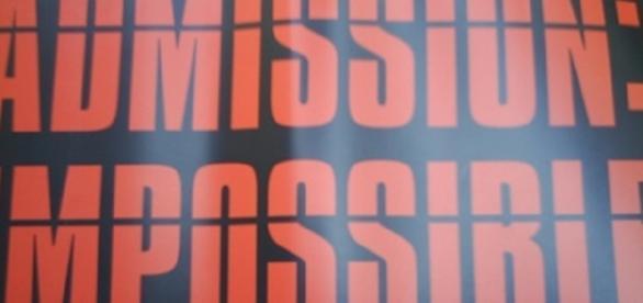 Admission Impossible (David Morris flckr)