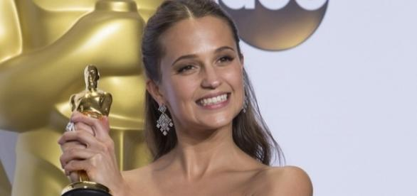Alicia Vikander/ Photo via Disney | ABC Television Group's photostream, Flickr
