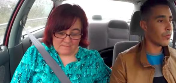 Danielle and Mohamed--Image by TLC/YouTube