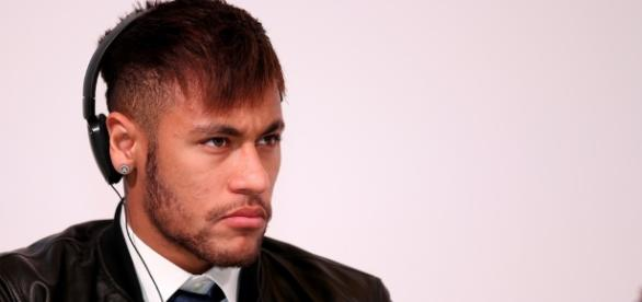FC Barcelona's Neymar during a function in Doha - image - Vinod Divakaran | Flickr