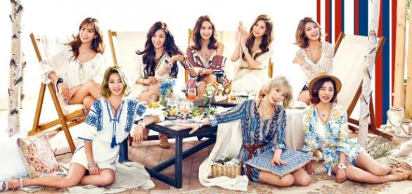 "Girls' Generation will make their 10th anniversary comeback with ""Holiday Night"" (via promotions by SM Entertainment)"