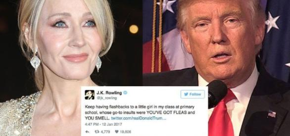 Here are J.K. Rowling's most brutal Donald Trump Twitter burns - mashable.com
