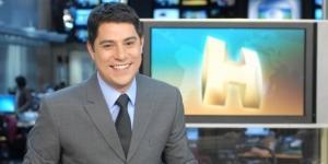Evaristo Costa na época da Globo