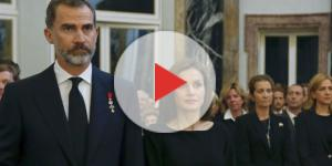 Felipe VI y Letizia durante un acto oficial