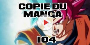 DBS 104 : Copie du manga ! SSGod et SSB
