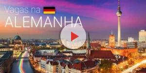 Inúmeras vagas de trabalho na Alemanha para quem é fluente em português