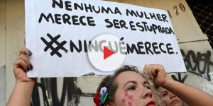 Vários protestos por todo o mundo contra o estupro
