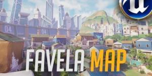 'Overwatch' fan-made Favela map could inspire Blizzard's future maps(Joshua Llorente/YouTube Screenshot)