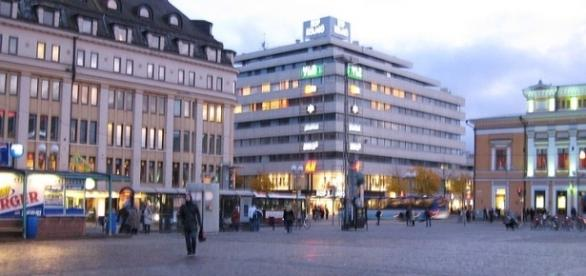 A knife attack in Turku, Finland is considered to be a terror act [Image: Wikimedia by Vihermarja/CC BY-SA 3.0]