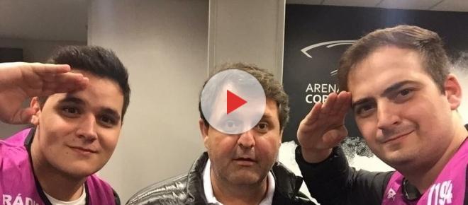 Após bate-boca com Mancini, jornalista corintiano é ridicularizado na internet