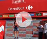 Vincenzo Nibali premiato come vincitore di tappa