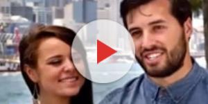 'Counting On' couple Jinger Duggar and Jeremy Vuolo / Photo via Channel News , YouTube