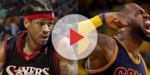 Image via Youtube channel: The Fumble #AllenIverson #LeBronJames