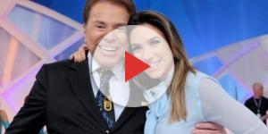 Silvio Santos no meio de uma polêmica com Fernanda Lima