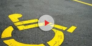 Disabile offeso da un automobilista