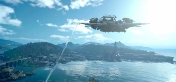 "The Regalia from ""Final Fantasy XV."" - YouTube/PC Gamer"