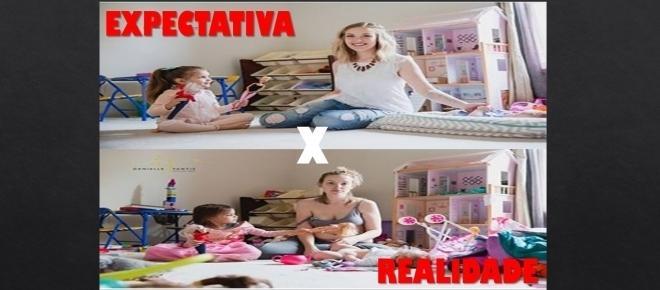 Maternidade: expectativa x realidade