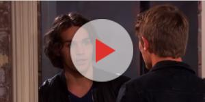 'Days of our Lives' Joey and Tripp. (Image via YouTube screengrab/NBC)