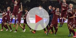 I calciatori della squadra del Torino
