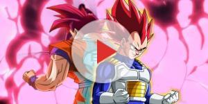 Imagen de Goku y Vegeta de Dragon Ball Super