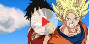one piece y Dragon en crossover