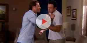 Alessandro confronta Vitor, por ter salvo Medina