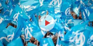 Drapeaux de l'Olympique de Marseille