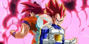Imagen de Goku y Vegeta de Dragon Ball Super