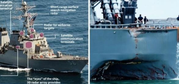 """Marina SUA a comandat o """"pauză de operare"""" a navelor sale de război - Foto: AFP- media.wired.com"""