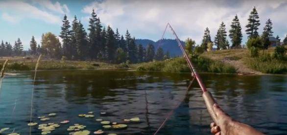 Players can do different activities aside from engaging enemies in 'Far Cry 5'. Photo via GameCheck/YouTube