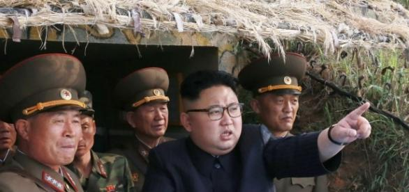 """Trump promet le """"feu et la colère"""" à la Corée du Nord, Kim Jong-un ... - challenges.fr"""