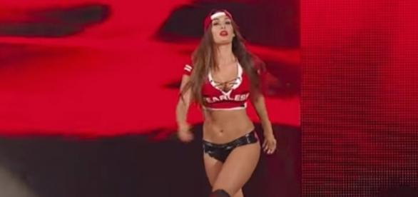 WWE wrestler and 'Total Divas' star Nikki Bella will be a part of 'Dancing With the Stars' Season 25. [Image via WWE/YouTube]