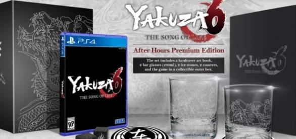"""Yakuza 6: The Song of Life"" After Hours Premium Edition has been revealed - YouTube/SegaAmerica"