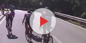 Contador in ritardo alla Vuelta Espana
