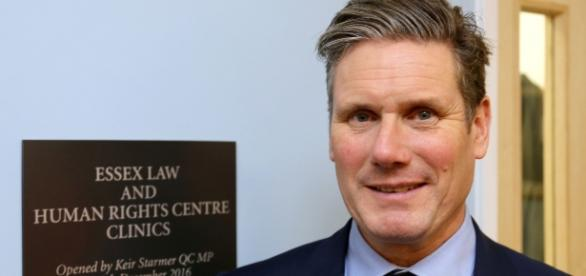 Shadow Brexit Secretary Keir Starmer speaking about policy change when it comes to Brexit - Flickr
