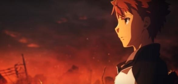 Emiya and Saber returned in another Fate Stay Night movie to participate in the Holy Grail War - [Image via YouTube/ アニプレックス]