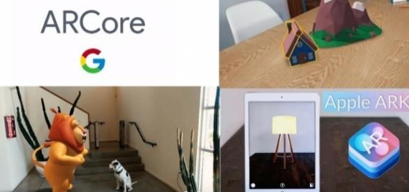 Google Arcore vs Apple Arkit: sfida realtà aumentata - Fonte:Youtube