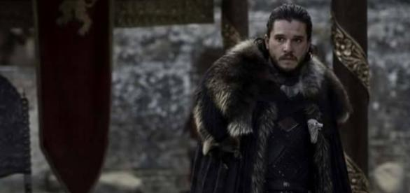 Jon Snow en el episodio final de 'Game of Thrones'