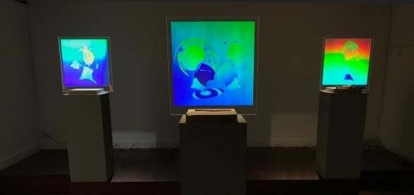 'Iridescence' will be displayed from September 1 to October 29, 2017. / Photo via Martina Mrongovius, HoloCenter, used with permission.