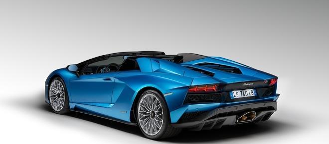 Lo nuevo de Lamborghini: Aventador S Roadster