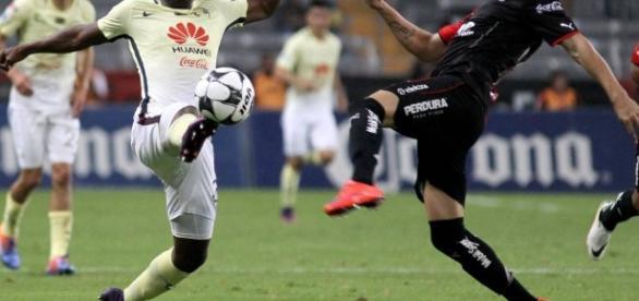 América cae 0-1 ante el Atlas en la cancha del Estadio Azteca