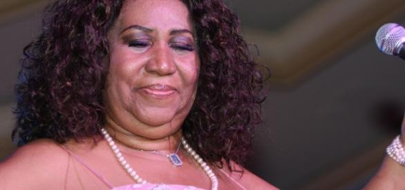 Aretha Franklin lost some weight lately (Image: flickr/Joe ortuzar)