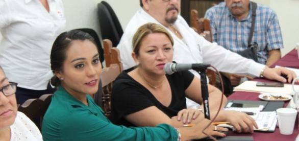 La junta fue presidida por la regidora Berenice Sosa Osorio.