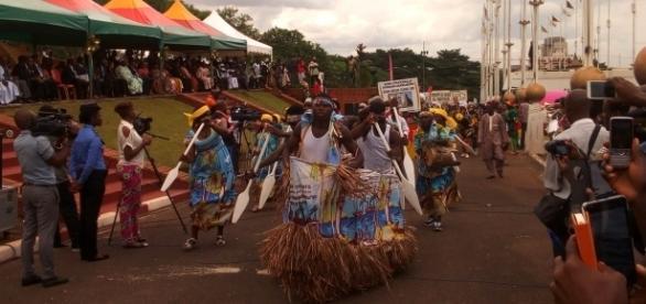le FESMUDAP au Musée national de Yaoundé (c) Odile Pahai