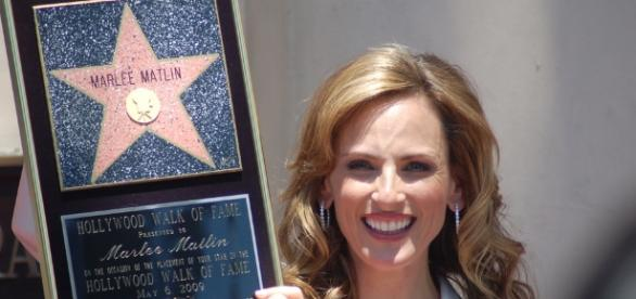 Marlee Matlin on 'Quantico' season 3- Image via Hollywood Walk of Fame | Flickr