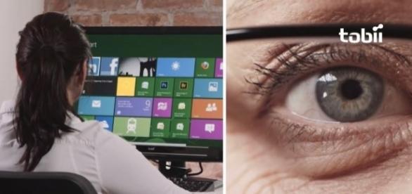 Microsoft's beta version of Eye Control - YouTube/Tobii Gaming