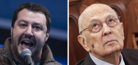 Salvini attacca duramente Napolitano - huffingtonpost.it