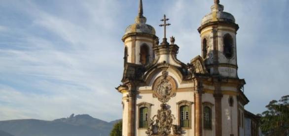 Ouro Preto é considerado patrimônio mundial da Unesco