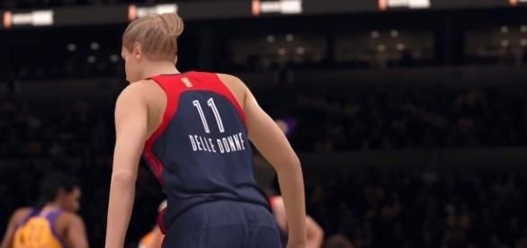 The WNBA Joins NBA LIVE 18 from YouTube/ EA SPORTS